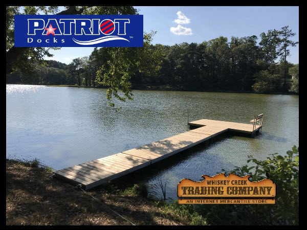 Low Profile Floating Dock