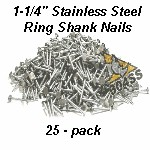 Stainless Nails 25 Pack